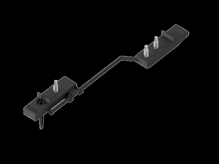 GleitFix Edelstahl rostfrei / 150 Stück Objektpack / für 30 - 40mm Dielenstärke
