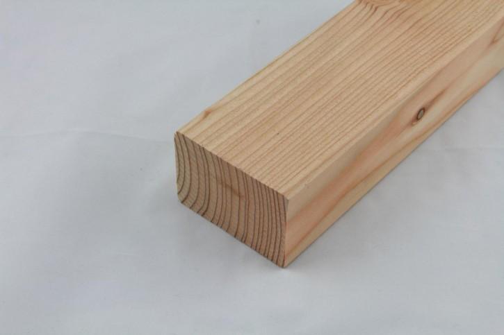 Sibirsche Lärche Kantholz gehobelt, Kanten gerundet 45 x 68mm, nisi, 4.0m