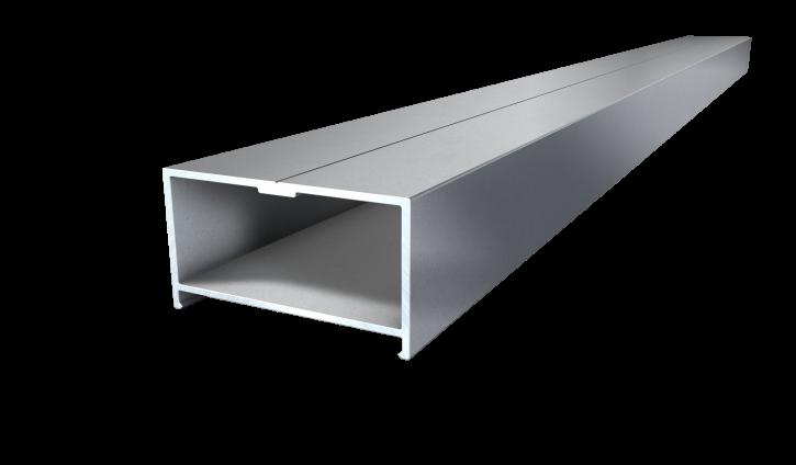 Isostep Aluminium Unterkonstruktion 4000x64x35mm
