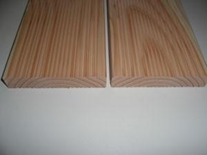 Terrassendiele Douglasie geriffelt , 25x140mm