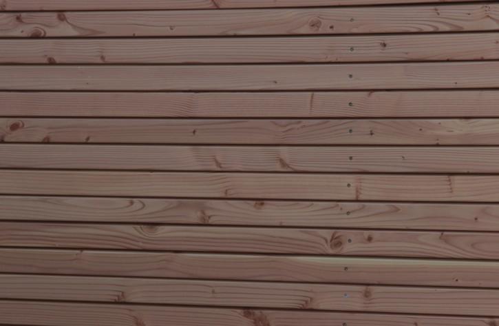 Rhombusleisten Fassadenprofil Douglasie 25x66mm