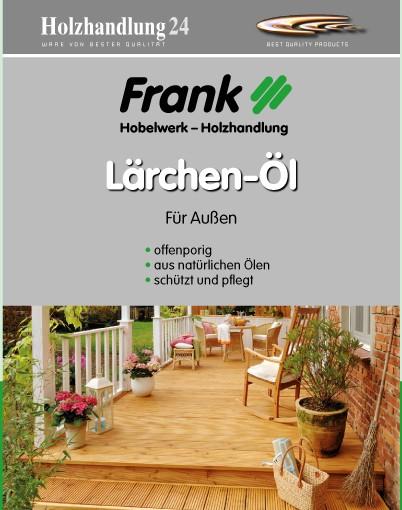 Holzhandlung24 Lärchen-Öl 2.5 Liter