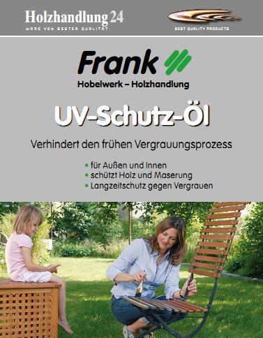 Holzhandlung24 UV-Schutz-Öl 2.5 Liter