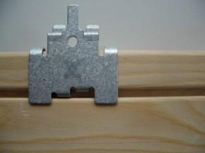 TIGA Fassadenverbinder 100 Stück/VPE mit Schrauben für ca. für 5 m²