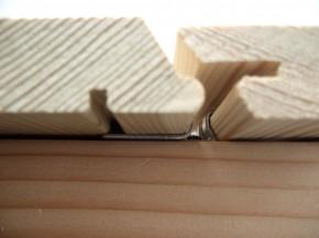 TIGA Fassadenverbinder 400 Stück mit Schrauben für 10 - 20 qm