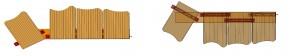 Früh Bohlenhalter Nr 85 E für Terrassendielen 50 Stück