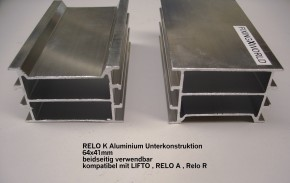 RELO K Aluminium - Unterkonstruktion 2200x64x41mm