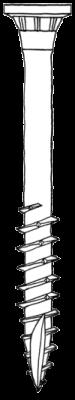 ELITA1 Edelstahlschrauben 5 x 50 mm 600 Stück SET