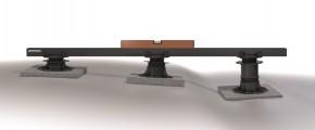 K & R Terracon Terrassenlager - Stellfuss verstellbar 35 - 70 mm Höhe